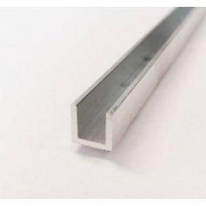 Aluminium gelijkzijdig U-profiel