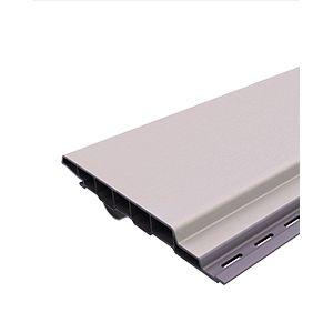 Gevelpaneel PVC / Renolit sponning cremewit 1379 2st/pak 6000MM/st
