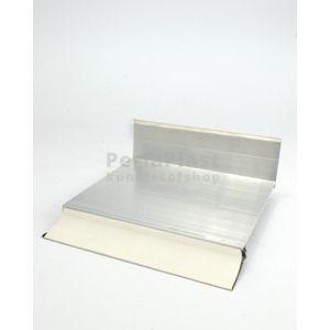 Aluminium muuraansluitprofiel