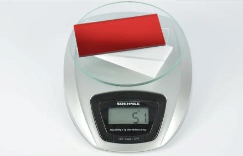 Wat is het gewicht van Plexiglas?