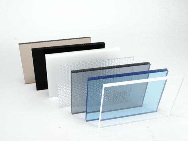 Plexiglas platen diverse soorten transparante kunststof